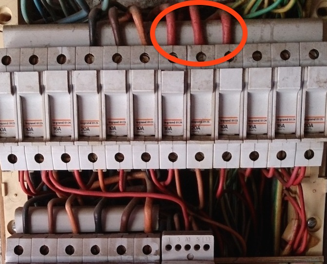 tableau électrique triphasé vétuste: rénovation en 10 étapes - - Cable Electrique Alimentation Maison