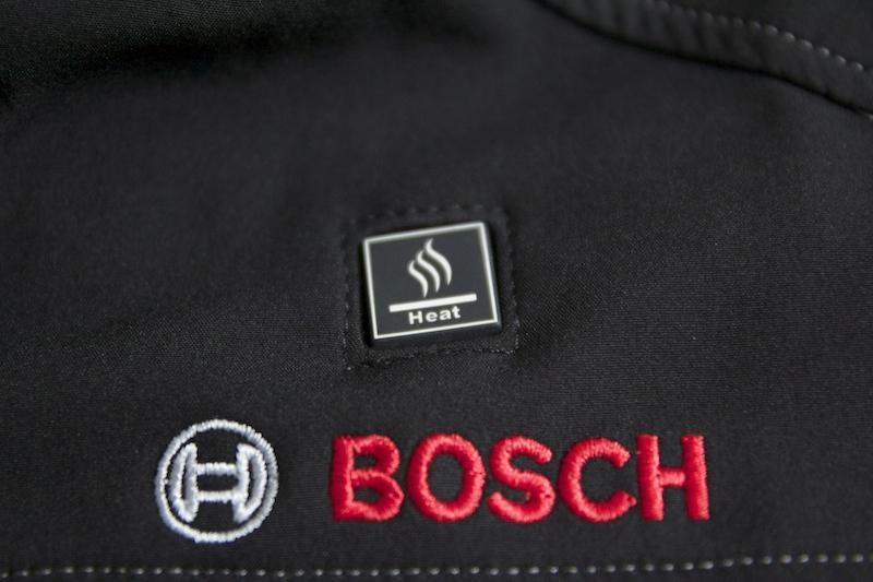 veste chauffante Bosch