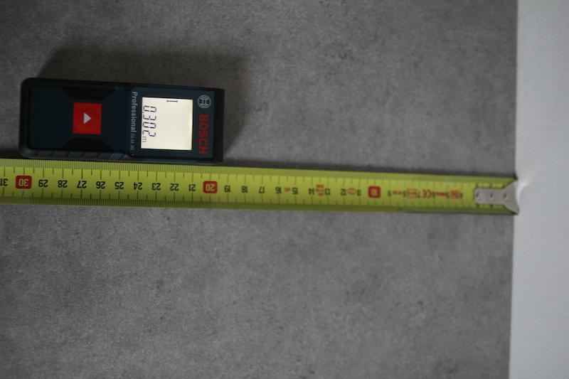 T l m tre bosch glm 30 d cam tre et m tre ruban mes outils de mesure indispensables - Metre laser bosch ...