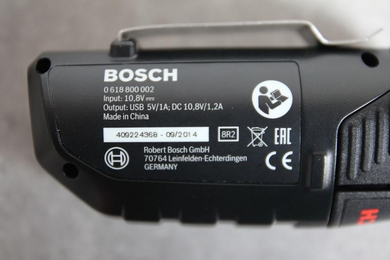 blouson chauffant Bosch sur batterie