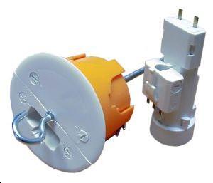 installation-electrique-Dispositif-connexion-Luminaire-plafond