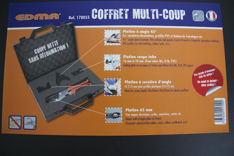 Platine 65 mm Multicoup EDMA