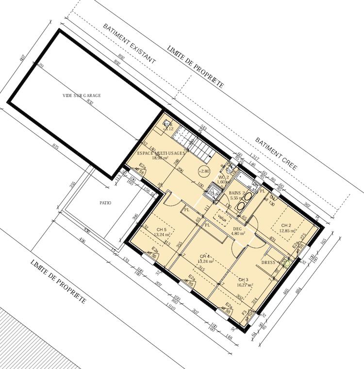 pieuvre lectrique plan architectural - Schema Installation Electrique D Une Maison