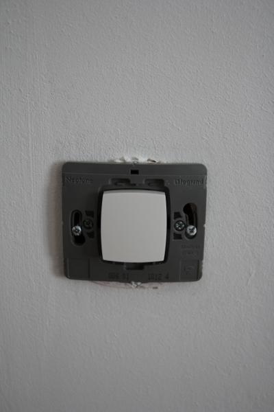 changement d'appareillage électrique