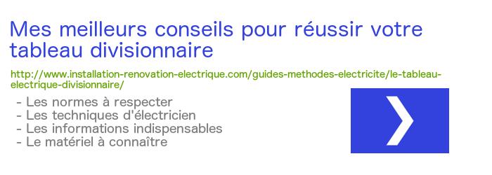 Ajouter un tableau lectrique secondaire - Tableau electrique secondaire ...