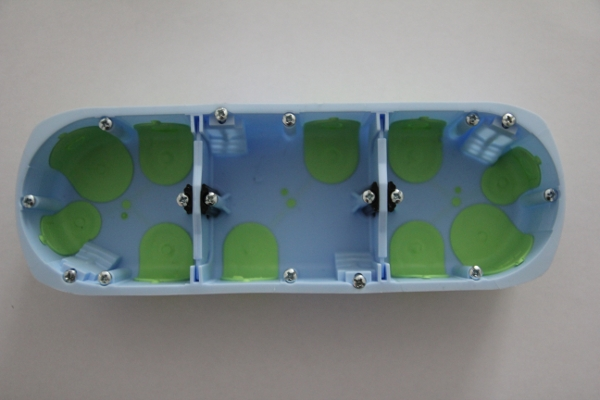 boite installation électrique conforme RT 2012: Boite d'encastrement BBC