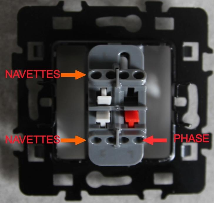 Branchement d 39 un interrupteur tout savoir sur le cablage et les sch mas - Branchement va et vient ...