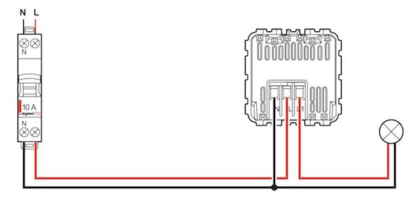 installer un d tecteur 2 fils sans neutre ou 3 fils la place d 39 un interrupteur. Black Bedroom Furniture Sets. Home Design Ideas