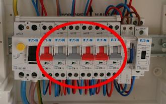Comment organiser une rangée de tableau électrique