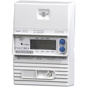 compteur d'électricité avec affichage digital