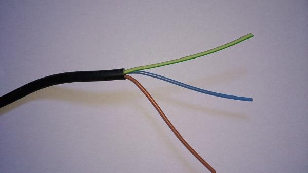 câble électrique 3G1.5