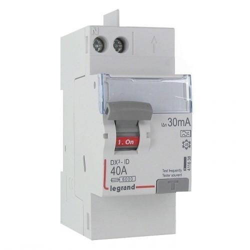 choisir un interrupteur différentiel, type a, type ac ou type hi? - - Disjoncteur Differentiel Pour Salle De Bain