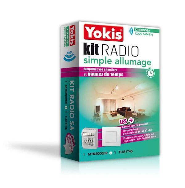 kit simple allumage radio