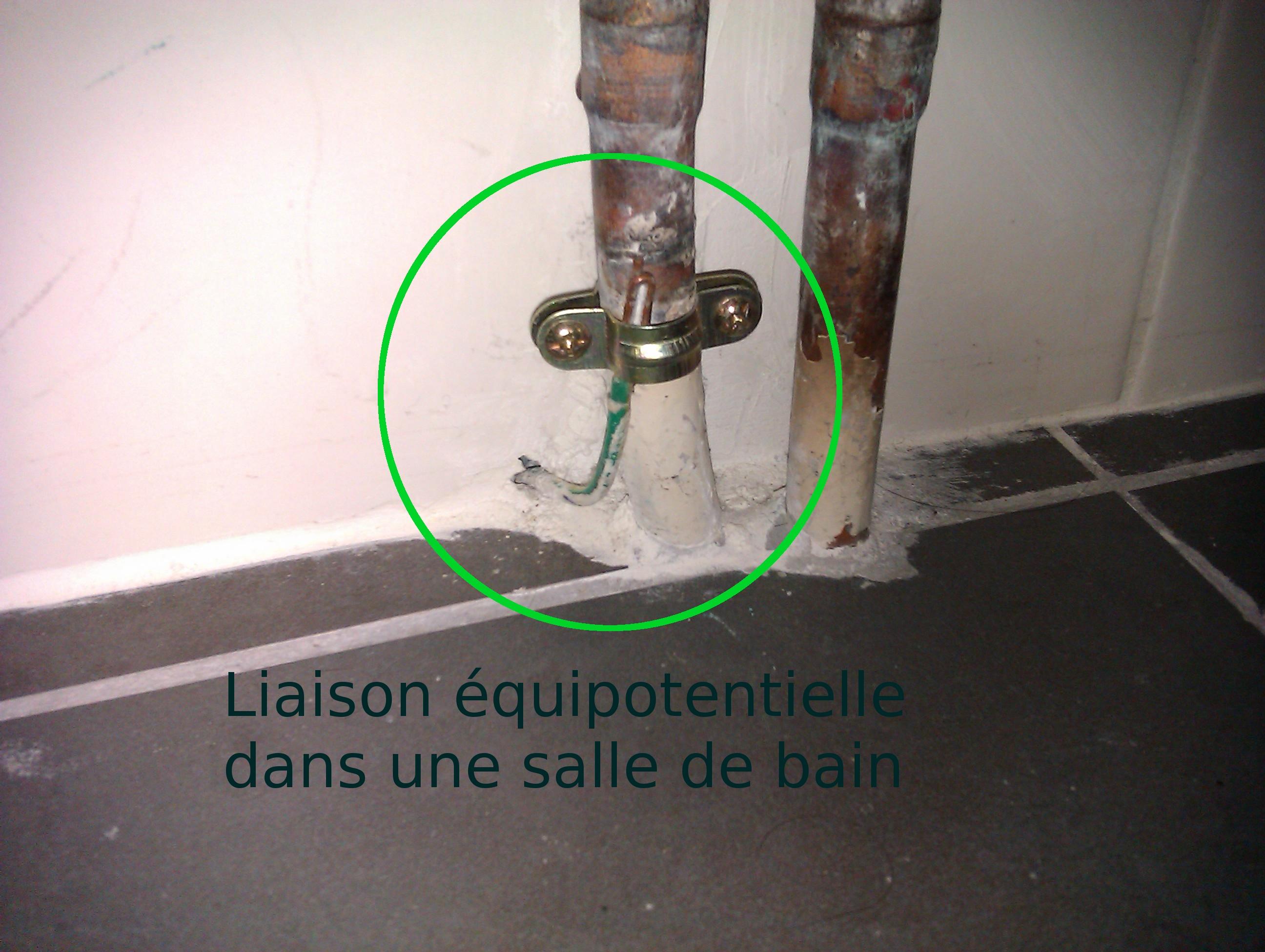 Index of images - Liaison equipotentielle salle de bain ...