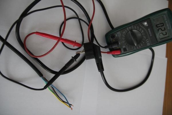 Continuité entre deux fils électriques