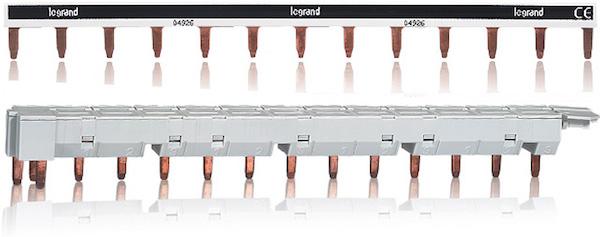 Branchement dans le tableau lectrique peigne bornier for Quel disjoncteur differentiel pour maison
