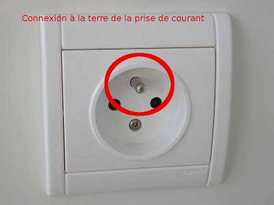 V rifier son installation lectrique en 4 tapes for Mesure de la prise de terre