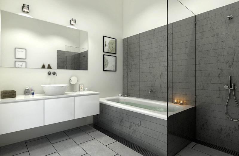 tableau lectrique dans la salle de bain autoris. Black Bedroom Furniture Sets. Home Design Ideas