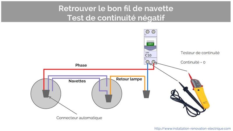Va et vient en simple allumage la modification for Circuit electrique va et vient