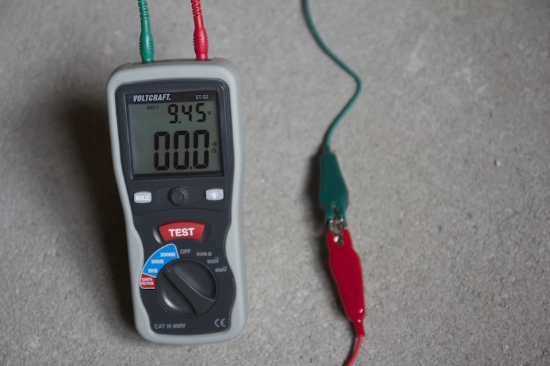 Testeur de terre voltcraft et 02 test et avis du mesureur de terre premier prix - Comment tester la terre sur une prise ...