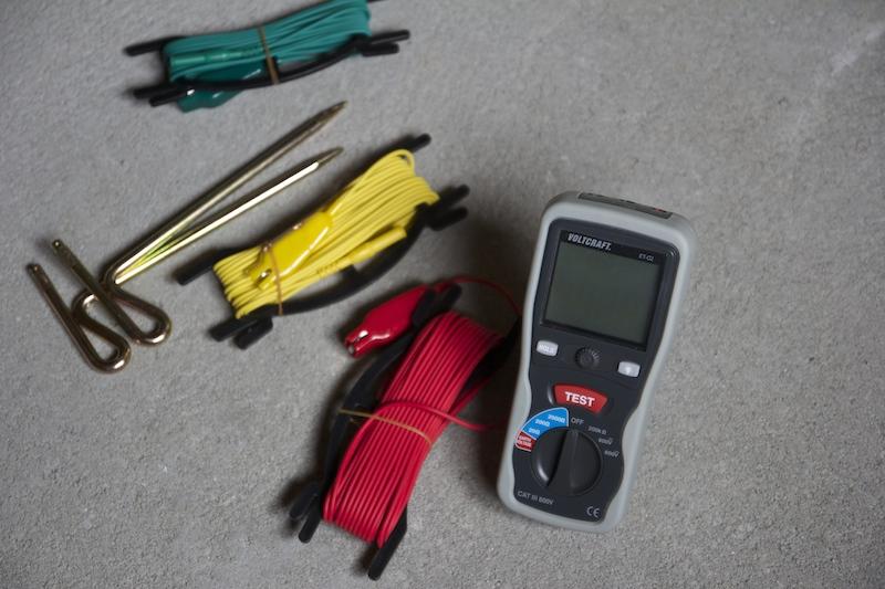 Testeur de terre voltcraft et 02 test et avis du mesureur de terre premier prix - Comment mesurer la terre d une installation ...