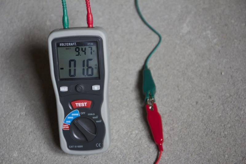 Voltcraft et 02 un testeur de terre premier prix pour mesurer la r sistance de prise de terre - Methode simple pour mesurer terre ...