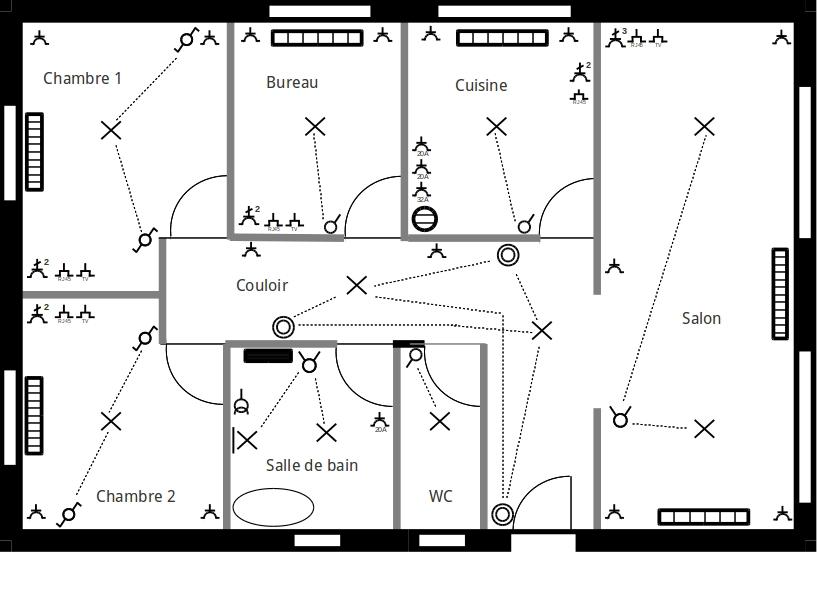 Les plans en lectricit r alisez votre installation lectrique vous m me - Comment faire un installation electrique ...