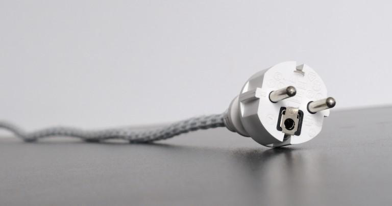 Le schéma électrique d'une prise de courant