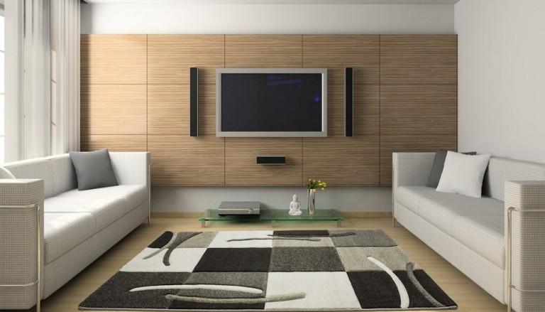 Installation électrique et norme NF C 15-100: Le salon