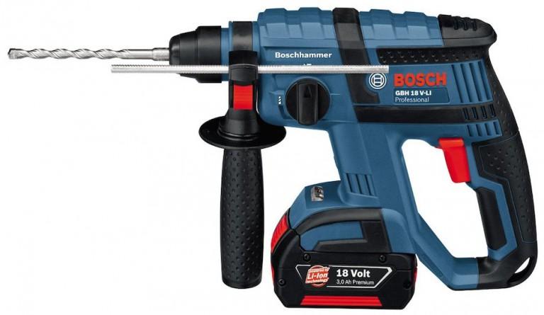 Un perforateur pour vos travaux d'électricité: Bosch GBH 18V Li Professionnal