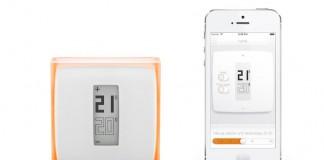 thermostat pilotage chaudière gaz netatmo