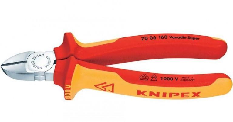 Couper les cables électriques d'alimentation de gros diamètres