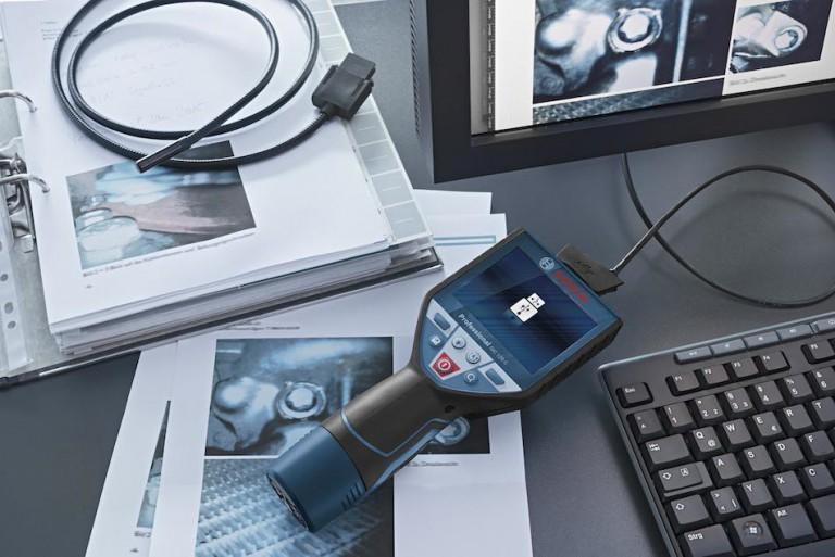 Détection et inspection (2/2) : caméra Bosch GIC 120C
