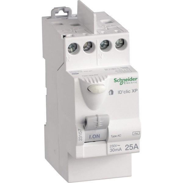 interrupteur differentiel 30mA tableau electrique