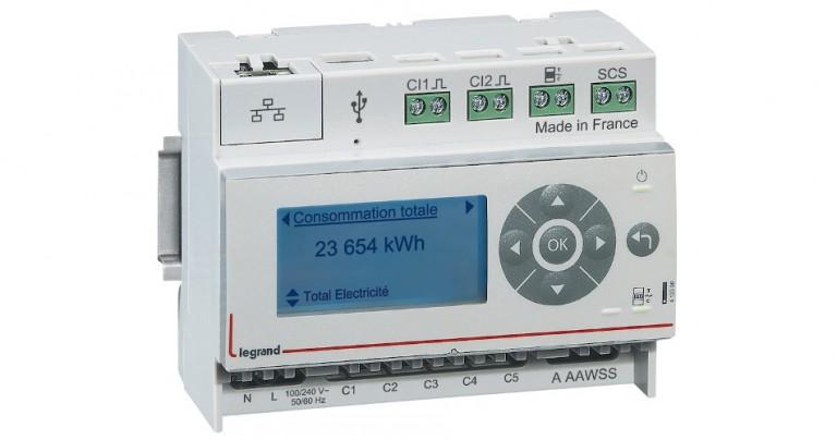 Eco-compteur Legrand 4 120 00: une solution modulaire pour mesurer la consommation d'énergie