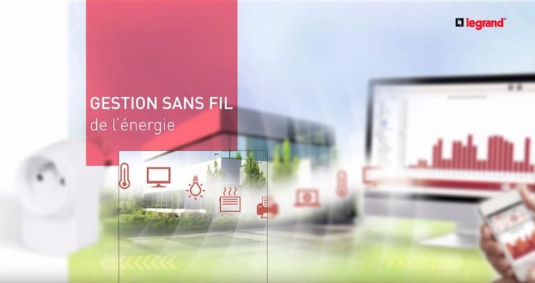 Test du système sans fil de gestion active de l'énergie de Legrand