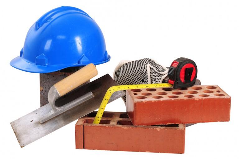 Les matériaux sur un chantier en électricité
