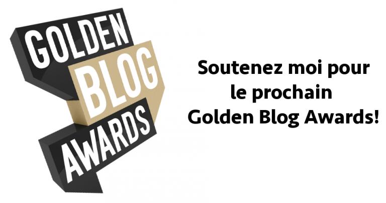 Votez pour le blog en électricité au prochain Golden Blog Awards!