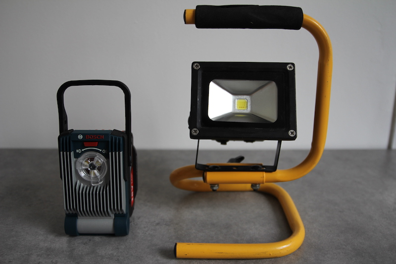 Gli Et Puissante BoschLa Chantier Compacte De Variled Lampe Ultra rWCdoxBQeE
