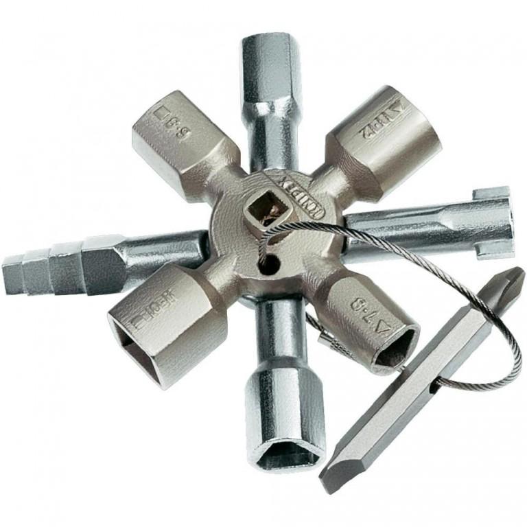 Test de la clé universelle Knipex 001101 Twinkey pour armoire électrique
