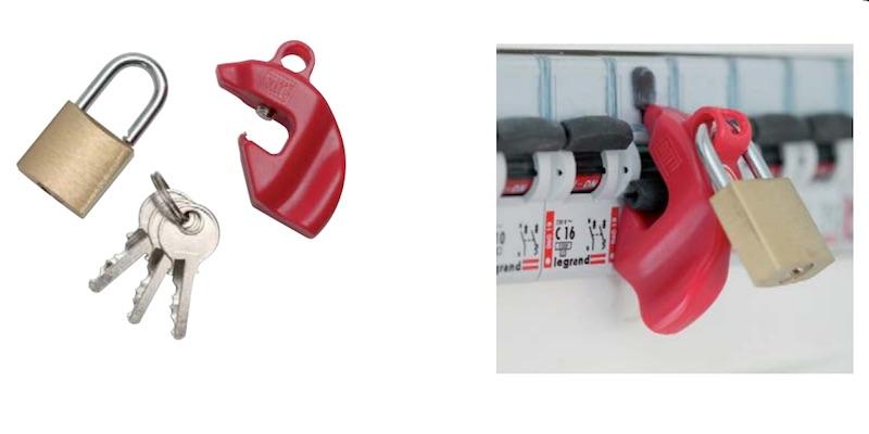 cadenas pour disjoncteur CATU AL-201-C/1