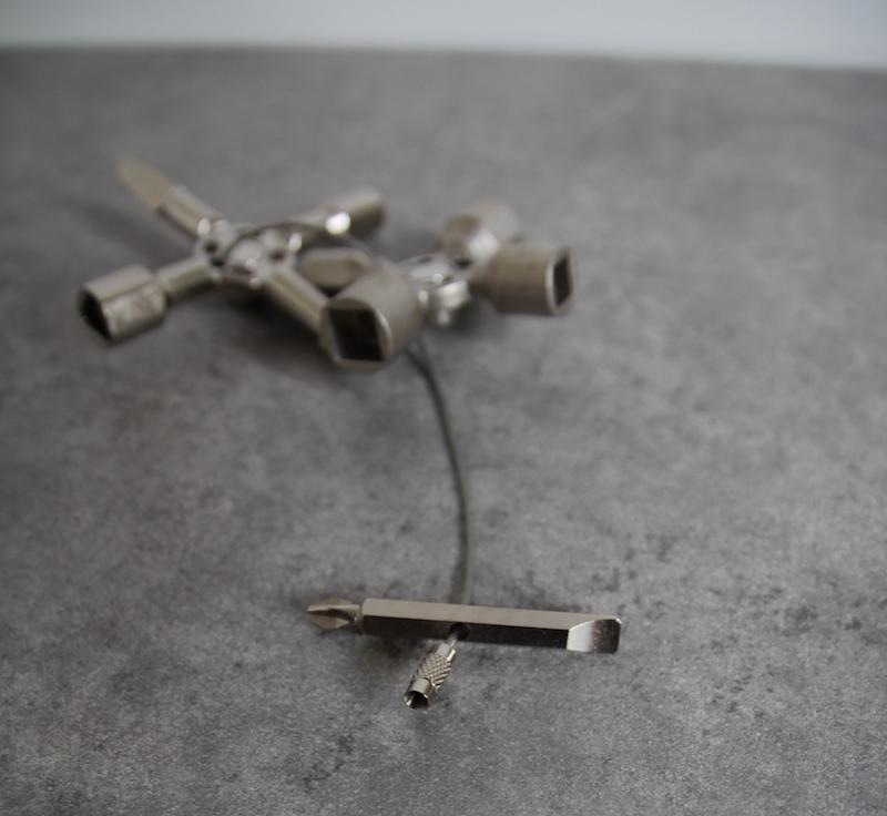 embout tournevis filin acier knipex twinkey clé universelle armoire électrique