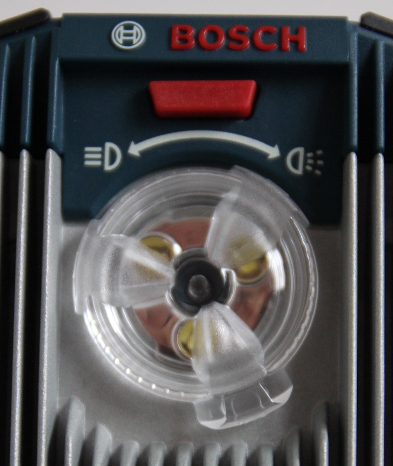 position eclairage LED GLI BOSCH