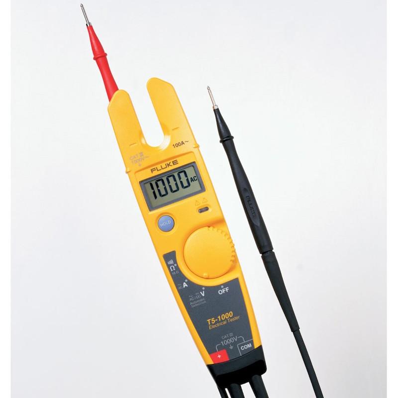 Testeur fluke T5-1000 ergonomie de mesure
