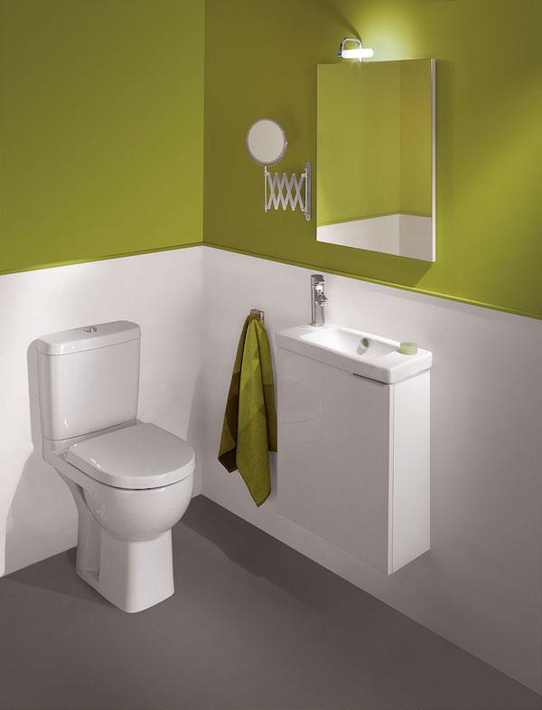 Les nouveaux volumes dans la salle de bain a5 nf c 15 100 - Machine a laver dans salle de bain ...