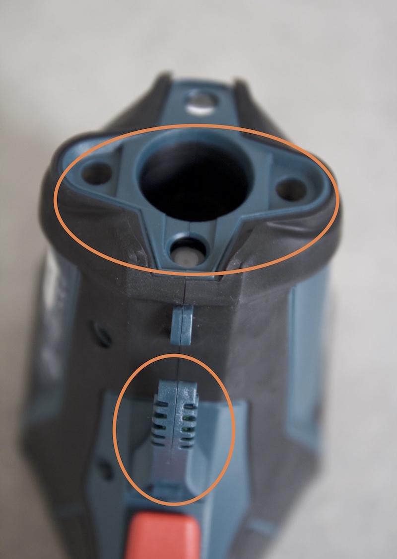 Bosch GIS-1000C lentille temperature humidite