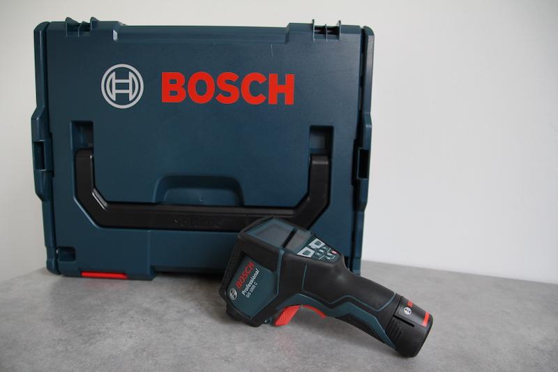 GIS 1000C detecteur thermique Bosch avis test blog electricite
