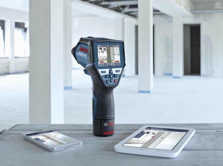Détecteur thermique: test de la caméra thermique Bosch GIS 1000C