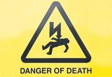 danger travaux électricité