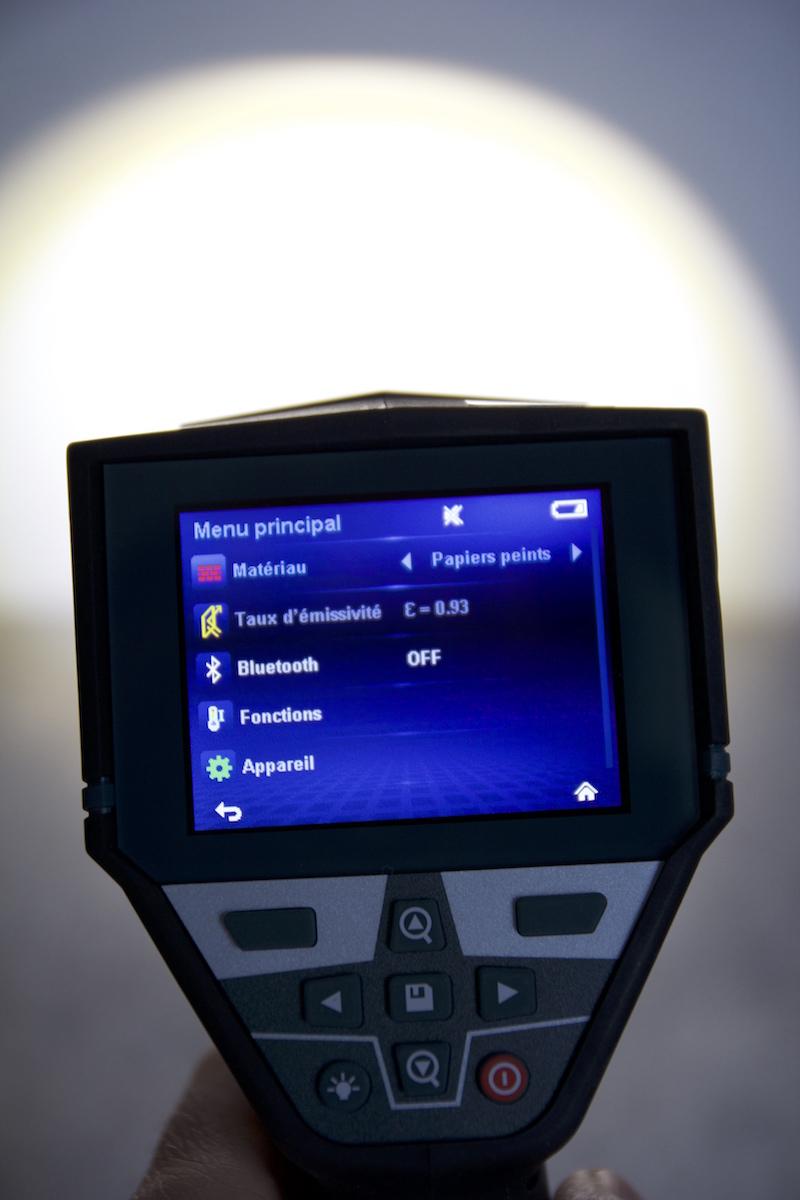 detecteur GIS-1000 LED eclairage